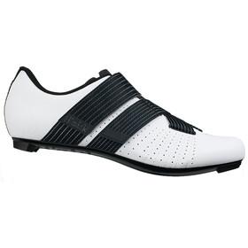 Fizik Tempo R5 Powerstrap Chaussures de cyclisme, white/black